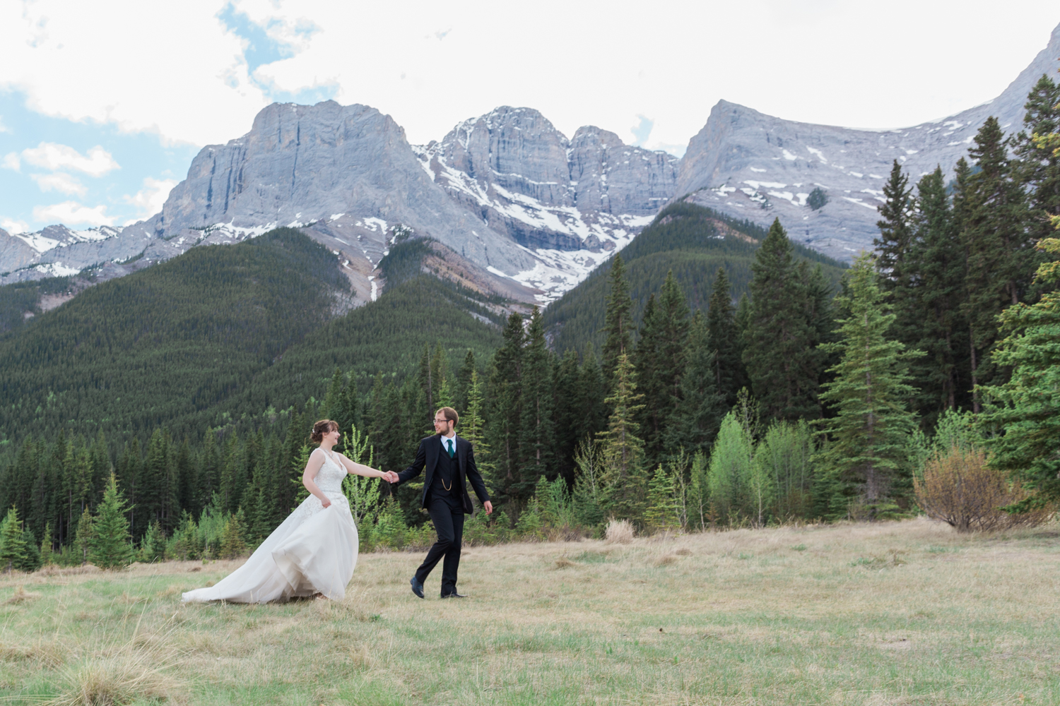 Canmore Wedding Photographer Bear Bison
