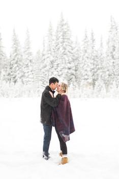 Bebo Grove Fish Creek Park Calgary Winter Engagement - 9.jpg