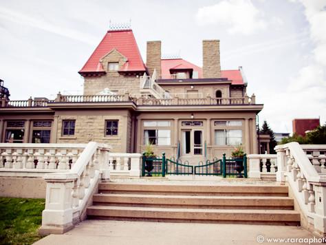 Calgary Unique Wedding Venue: The Lougheed House