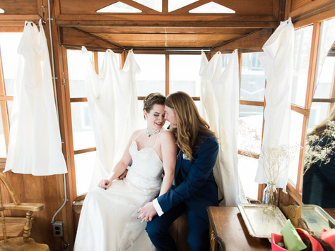 Water Valley Events Centre and Triwood Community Centre: Winter Wedding - Kevann & Scott