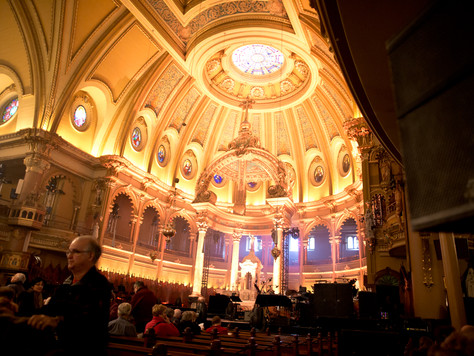 Cirque du Soleil's 30th Anniversary Concert at St. Jean Baptiste Church in Montreal