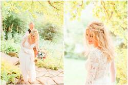 Calgary Wedding Photographer Reader Rock Garden Cafe Golden Light Light Airy Fairy - 24