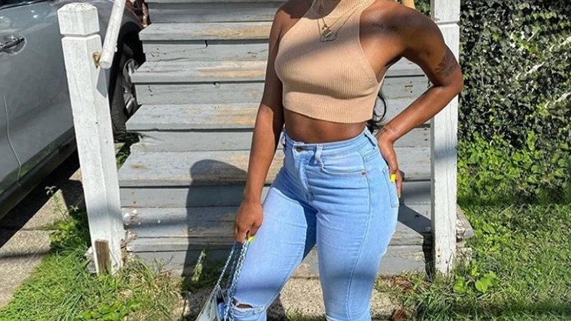 high waist stackpants