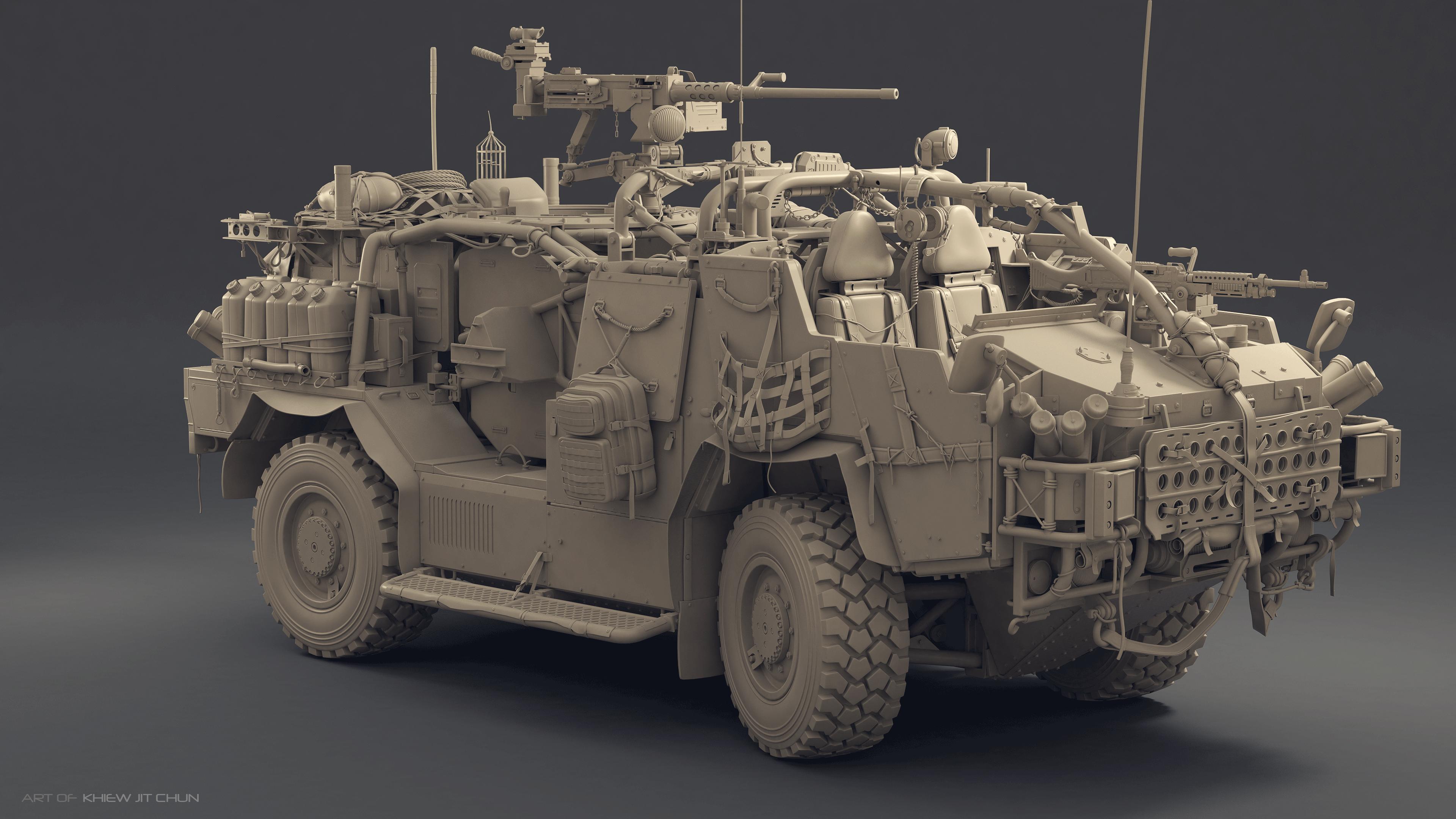 Jackal Military Vehicle