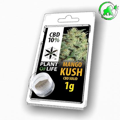 RESINE CBD MANGO KUSH 10% 1G PLANT OF LIFE