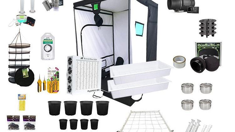 5X5 Complete LED Grow Kit