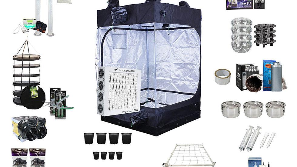 Complete Grow Kit 4x4x72.2 Tent Kit PM2-1000W