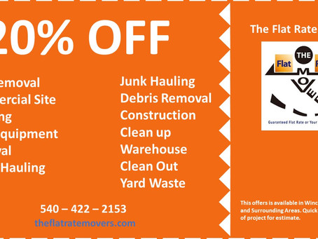 Debris Removal and Junk Hauling Winchester Virginia and Surrounding Areas