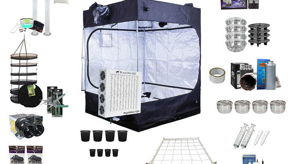Complete Grow Kit 5.0x5.0x7.2 Tent Kit PM5-1000W