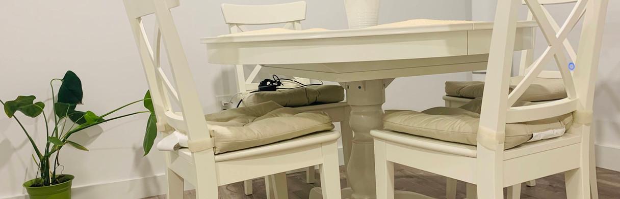 Dinningroom Apartment Unit 2