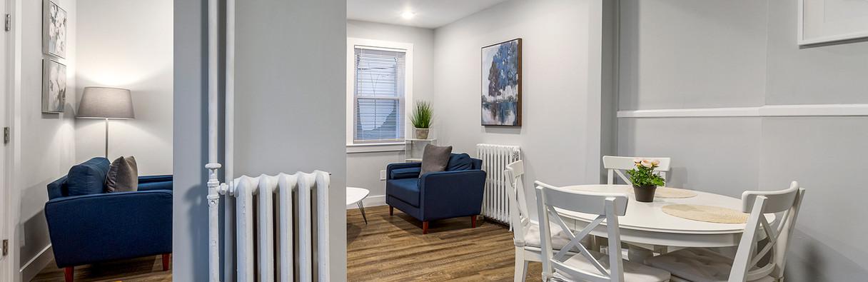 52 Irving St, Unit 4 - Diningroom & Livingroom