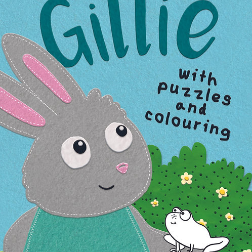 Gillie with Puzzles & Games