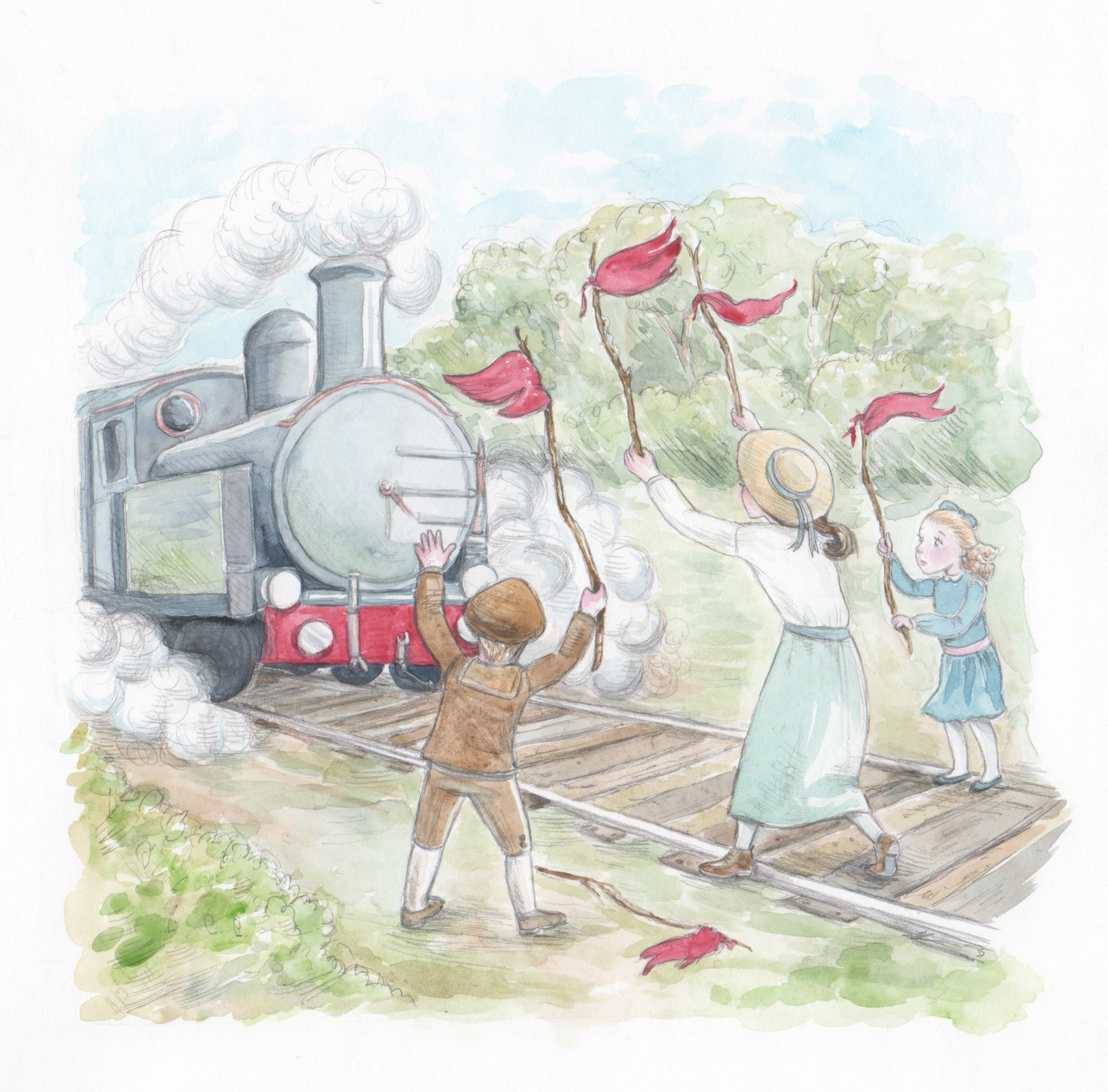 TheRailwayChildren JS