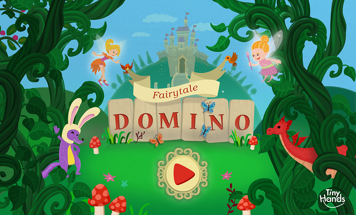 Fairy Tale Domino app opening