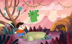 Dinosour World game design WIP
