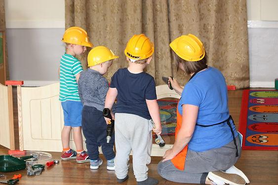Busy Builders!