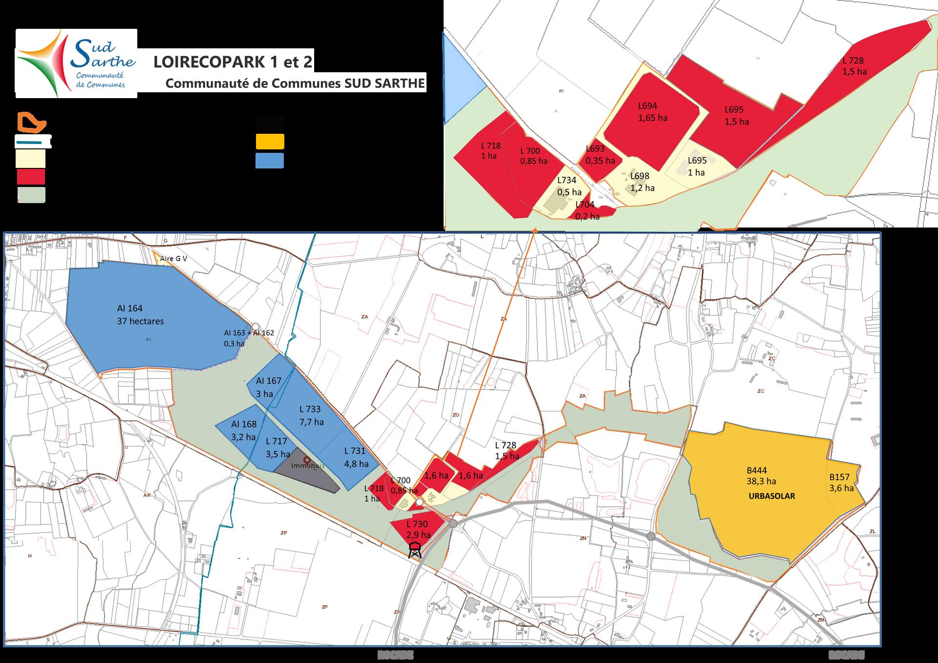 2021 - Loirécopark SUD SARTHE  pour site