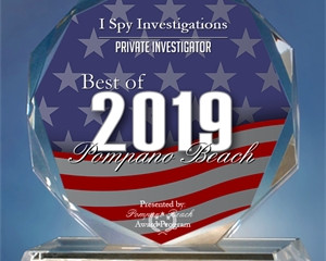 I Spy Investigations Receives Best in Pompano Beach Award