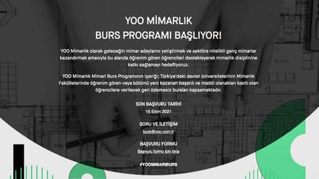 YOO Mimarlık Mimari Burs Programı