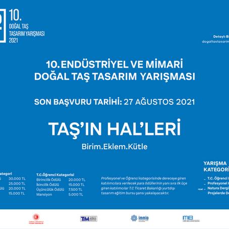 TAŞ'IN HAL'LERİ - 10. Endüstriyel ve Mimari Doğal Taş Tasarım Yarışması
