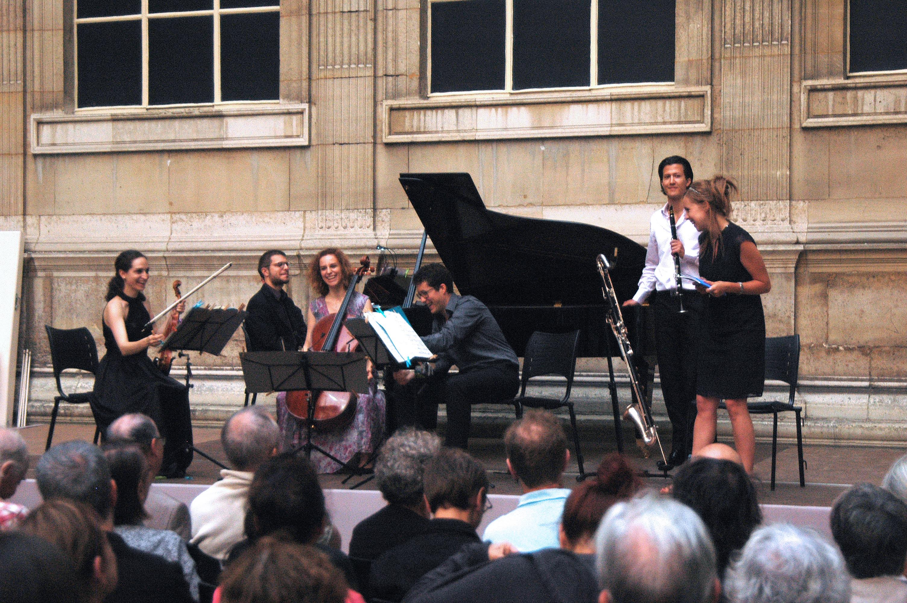 Ensemble Polygones et Camille Pépin