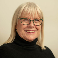 Portrait of Snorri Foundation Chair, Hulda Karen.