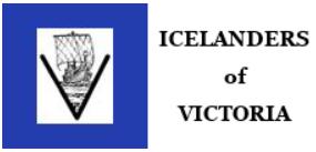Icelanders of Victoria logo