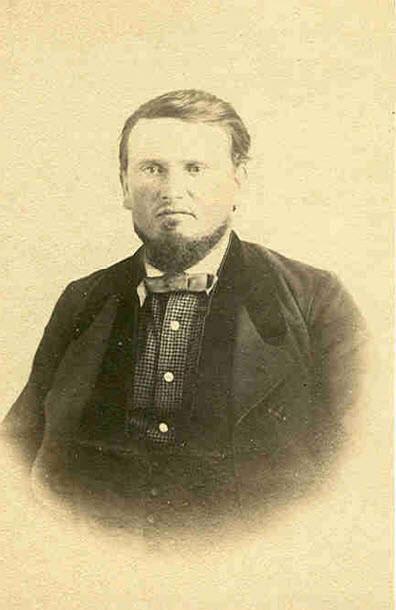 Portrait of Lüder Höpken around the year 1865
