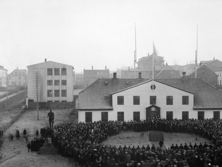 1918: The Year of Sovereignty, Polar Bears, Katla & Influenza