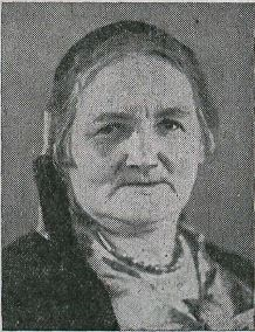 portrait of Jósefína Jósefsdóttir