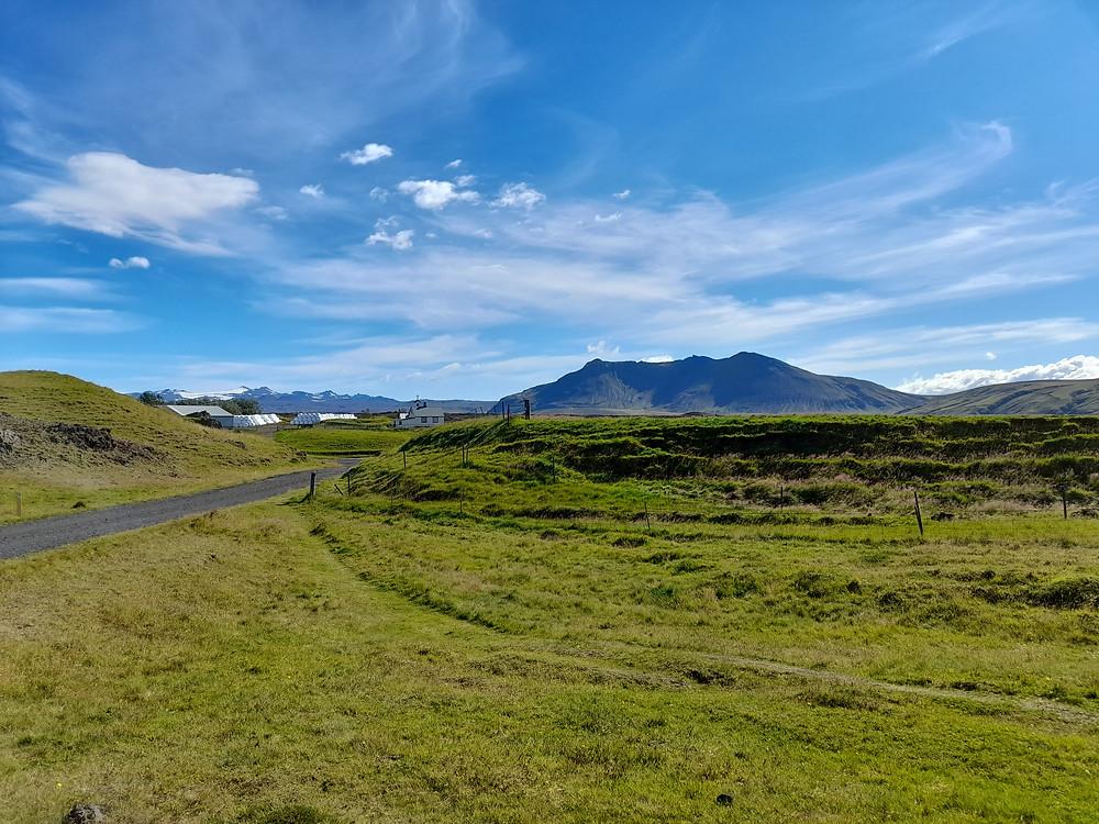 The three peaked mountain from Njall's Saga