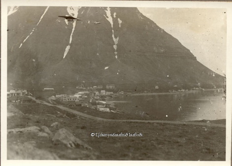 old photo of hnifsdalur, iceland circa 1900