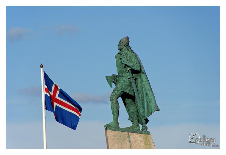 Statue of Leif Eriksson in Reykjavík
