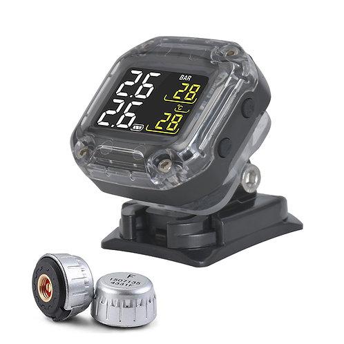 INFITARY Wireless TPMS Motorbike Auto Tire Alarm Motorcycle Tire Pressure