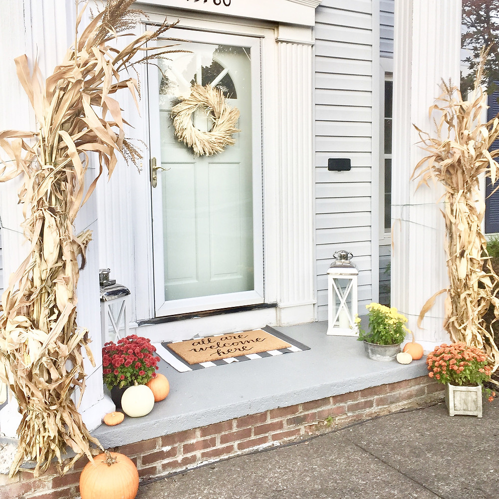 How to decorate your porch patio for fall tips