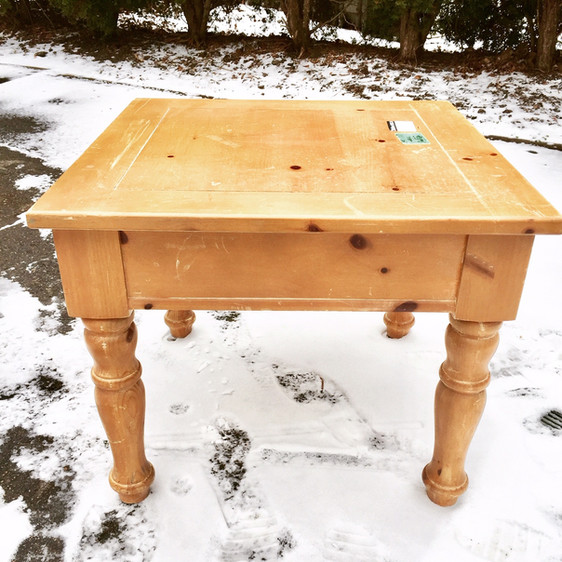 Second chances: a sweet yet rustic furniture restoration