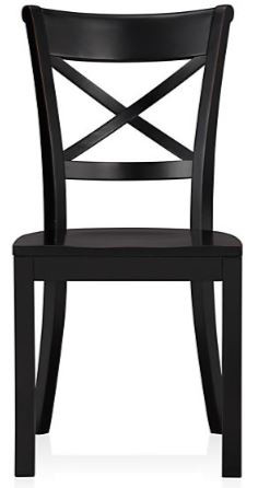 Vintner Crate and Barrel black dining chair