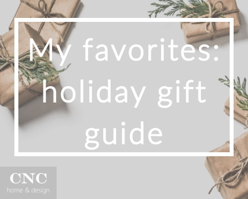 My favorite things: Holiday gift guide
