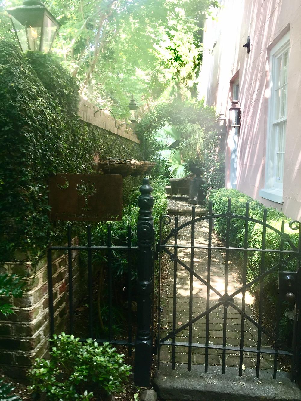 Garden in Charleston, SC