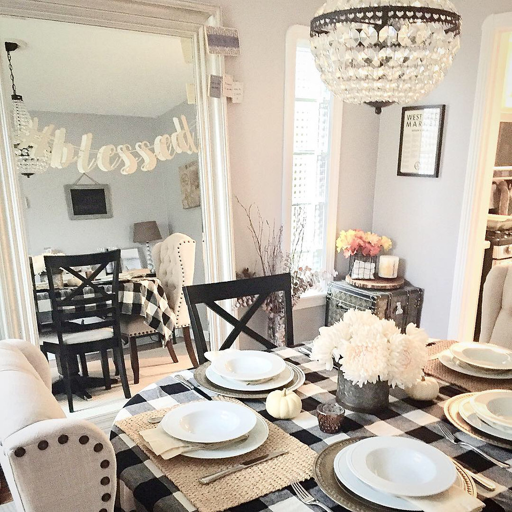 How to decorate dining room fall home decor