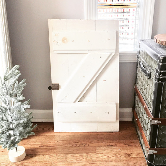 Vintage charm: A farmhouse inspired kitchen cupboard door DIY