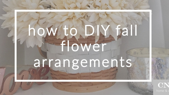 Fall flavors: How to DIY your own rustic flower arrangement