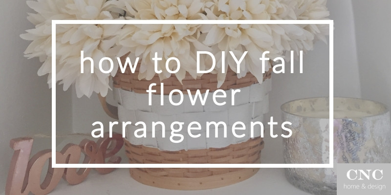 How to DIY rustic fall farmhouse flower arrangement