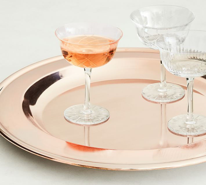 Monique Lhuillier by Pottery Barn bar serving tray