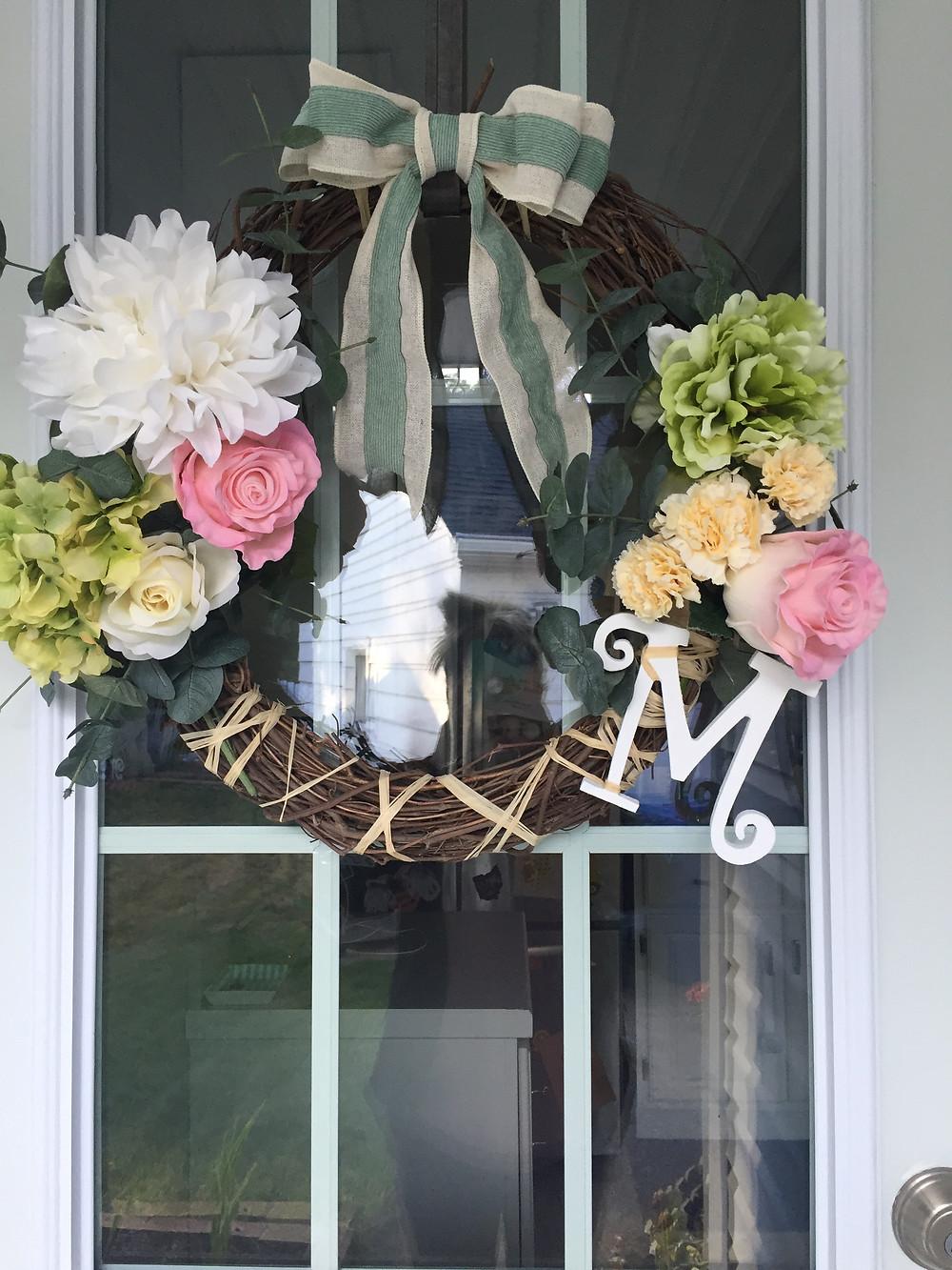 Spring Easter Wreath home decor