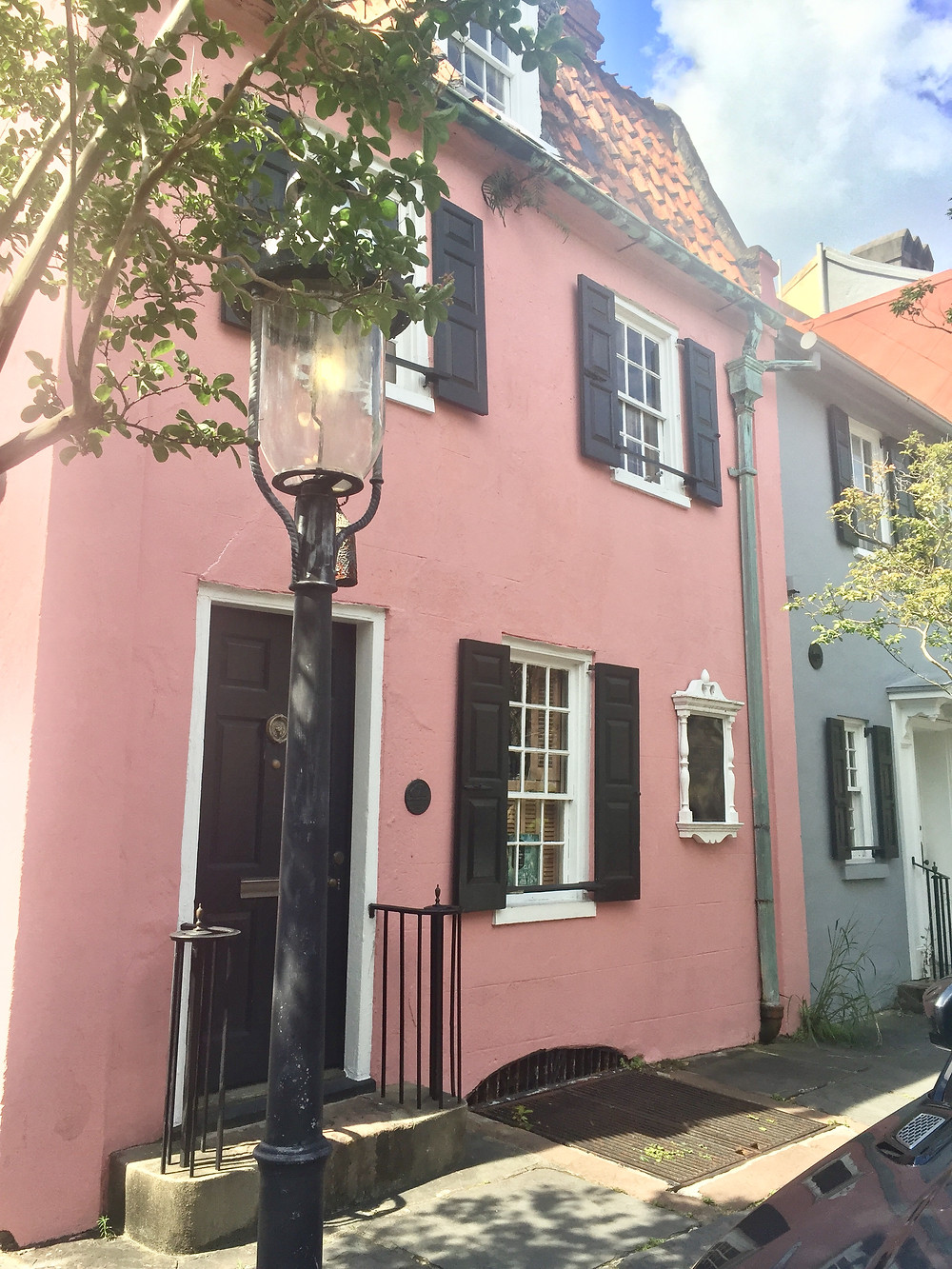 The pink house Charleston, SC