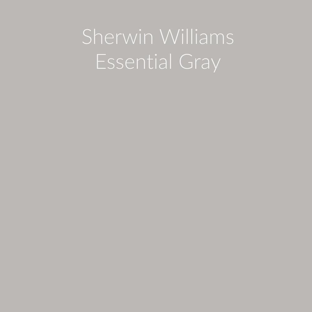 Sherwin Williams Essential Gray