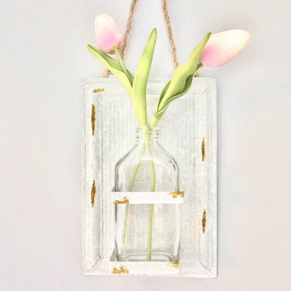 Pink tulips flowers home decor
