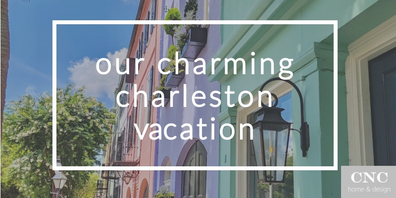 charming charleston SC vacation