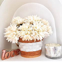 Mums in basket fall decor.JPG